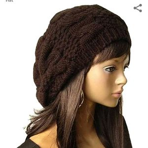 Accessories - Chunky Knitted Braided Beanie
